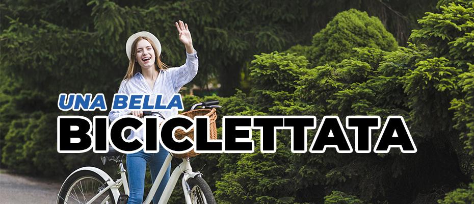 Biciclettata in compagnia