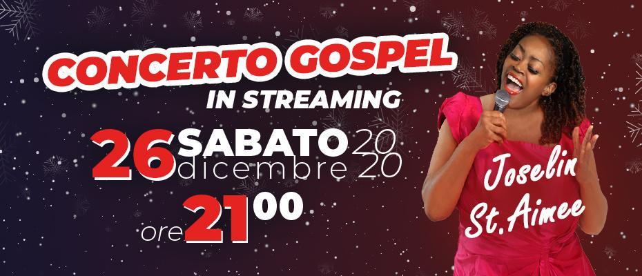 Sosteniamo la Musica – Concerto Gospel di Joselin St. Aimee